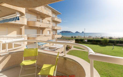 1789 Apartament primera linea de mar, Els Griells,l´Estartit