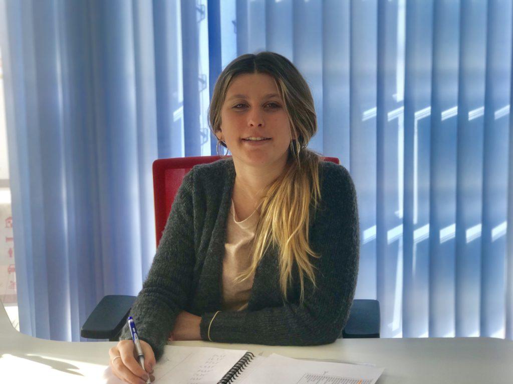 Cristina Collier becaria a Inmocosta API