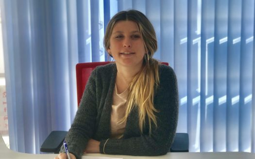 Cristina Collier, nuestra becaria Inmocosta API Estartit