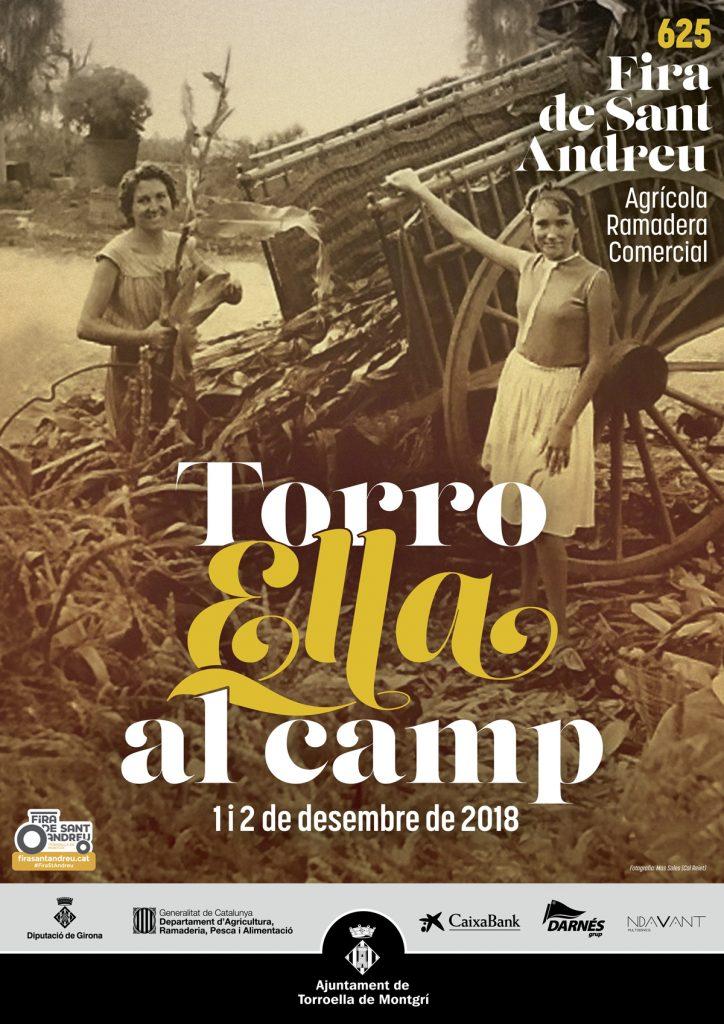 625 Fira de Sant Andreu a Torroella de Montgrí dissabte 1 i diumenge 2 dessembre