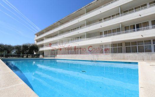 Appartement à 600 mètres de la plage, piscine commune et parking , Els Salats, L'Estartit.