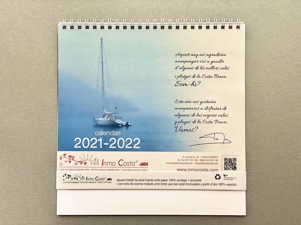 Inmocosta API Estartit Calendari 21-22 original