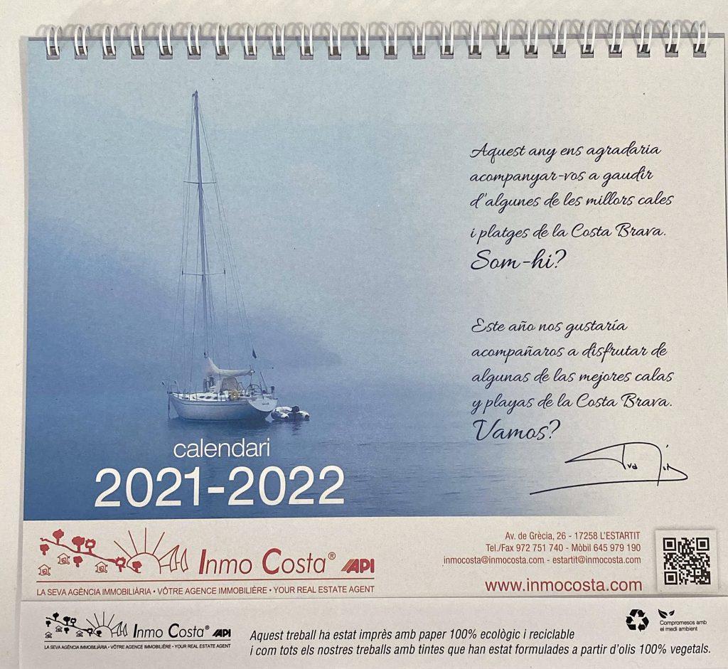 Calendari Inmocosta 2021 2022 Inmocosta API